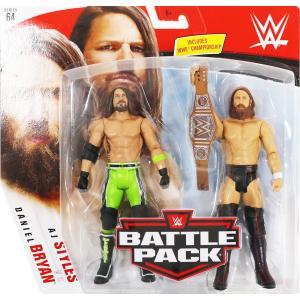 WWE BATTLE PACKS 64 Daniel Bryan & AJ Styles(ダニエル・ブライアン/AJスタイルズ)|bdrop