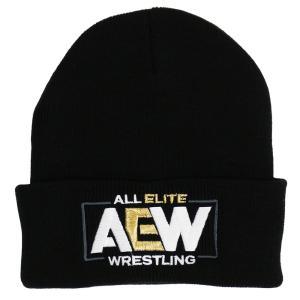 AEW Logo ニット帽|bdrop