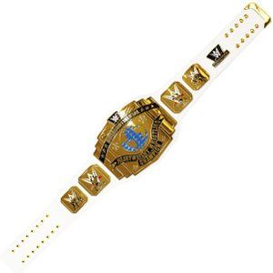送料無料:WWE インターコンチネンタル王座 レプリカ チャンピオンベルト White Strap Verison bdrop
