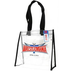 WWE WrestleMania 32 PVC製トートバッグ bdrop