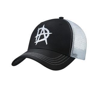 WWE Dean Ambrose(ディーン・アンブローズ) Black/White ベースボールキャップ|bdrop