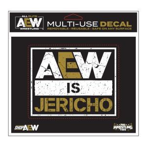 AEW Chris Jericho(クリス・ジェリコ) AEW is Jericho デカール|bdrop