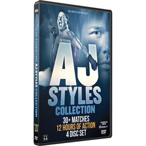TNA The Essential AJ Styles Collection DVD 4枚組|bdrop