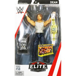 WWE Mattel Elite 58 Dean Ambrose (ディーン・アンブローズ)|bdrop