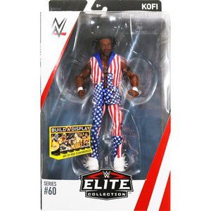 WWE Mattel Elite 60 Kofi Kingston(コフィ・キングストン)|bdrop