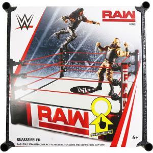 WWE マテル RAW仕様のフィギュア用リングセットです。 パッケージサイズ:約 33.2 x 33...