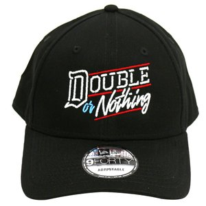 AEW Double or Nothing New Era 9forty ベースボールキャップ|bdrop