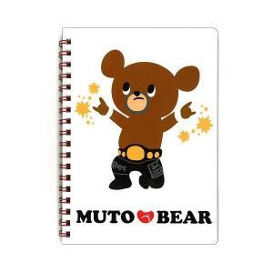 MUTO BEAR (武藤ベアー) リングノート [インロック] bdrop