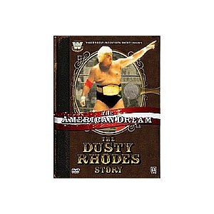 WWE ダスティ・ローデス アメリカンドリーム DVD|bdrop