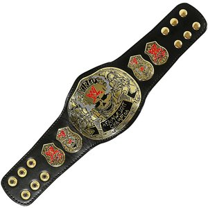 WWE Steve Austin(スティーブ・オースチン) Smoking Skull レプリカミニチャンピオンベルト bdrop
