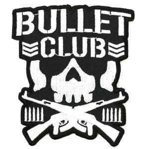 新日本プロレス NJPW BULLET CLUB(バレット・クラブ) ワッペン|bdrop
