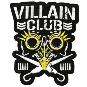 新日本プロレス NJPW マーティー・スカル Villain Club Gold ワッペン|bdrop
