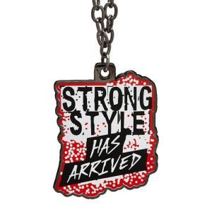WWE Shinsuke Nakamura (中邑真輔) Strong Style Has Arrived ペンダント|bdrop
