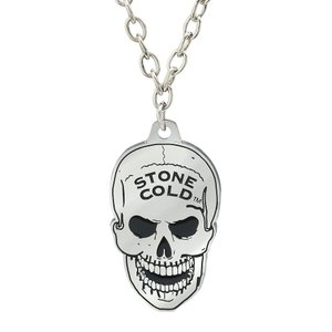 WWE Steve Austin(スティーブ・オースチン) Skull ペンダント bdrop