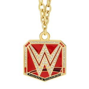 WWE ウーマンズ王座ベルト ペンダント bdrop