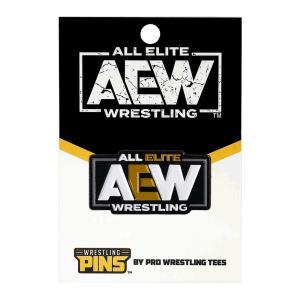 AEW Logo ピンバッジ bdrop