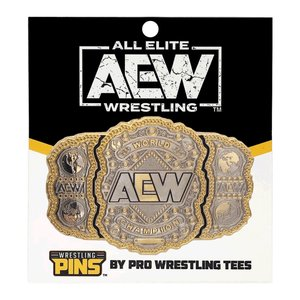 AEW 世界ヘビー級王座ベルト ピンバッジ bdrop