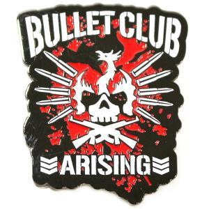 新日本プロレス NJPW Bullet Club(バレット・クラブ) Arising ピンバッジ|bdrop