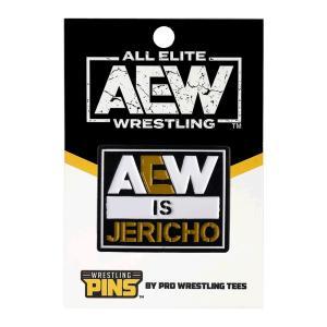 AEW Chris Jericho(クリス・ジェリコ) AEW is Jericho ピンバッジ|bdrop