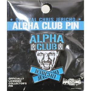 新日本プロレス NJPW/WWE Chris Jericho(クリス・ジェリコ) Alpha ピンバッジ|bdrop