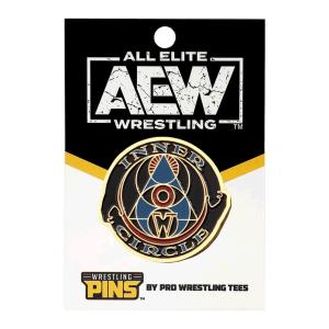 AEW Inner Circle(インナー・サークル) ピンバッジ bdrop