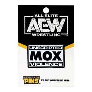 メール便対応: AEW John Moxley(ジョン・モクスリー) Mox ピンバッジ|bdrop