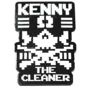 新日本プロレス NJPW ケニー・オメガ The Cleaner ピンバッジ|bdrop