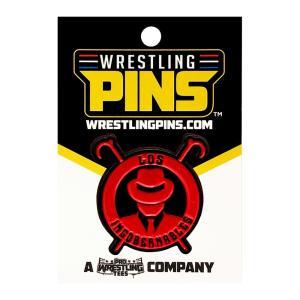 新日本プロレス NJPW 内藤哲也 ロス・インゴベルナブレス・デ・ハポン Red Logo ピンバッジ|bdrop