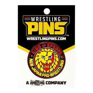 新日本プロレス NJPW ライオンマーク ピンバッジ|bdrop