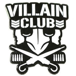 新日本プロレス NJPW マーティー・スカル Villain Club ピンバッジ|bdrop
