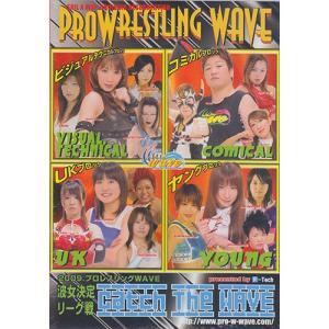 プロレスリングWAVE Catch the WAVE 2009.5.27-8.11波女決定リーグ戦 DVD|bdrop