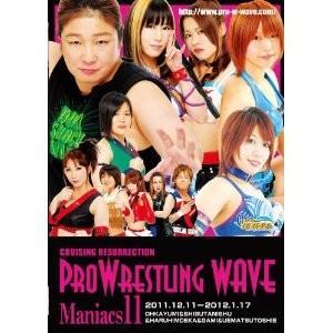 プロレスリングWAVE WAVEマニアックス11 DVD|bdrop