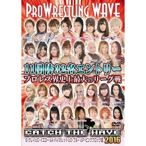 CATCH THE WAVE 2016 ~S・グレイ&C・イエロー&A・バイオレット&O・ブルー&P・ピンクブロック編~ [DVD]|bdrop