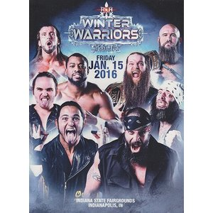 ROH WINTER WARRIORS TOUR - Indianapolis IN 輸入DVD|bdrop