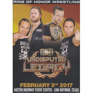 ROH UNDISPUTED LEGACY- SAN ANTONIO TX 輸入DVD|bdrop