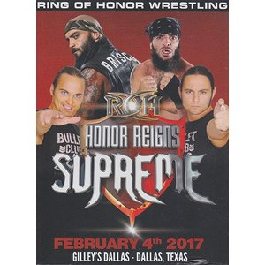 ROH 17 HONOR REIGNS SUPREME- DALLAS TX 輸入DVD|bdrop