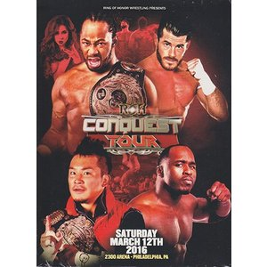 ROH THE CONQUEST TOUR - Philadelphia Pa 輸入DVD|bdrop