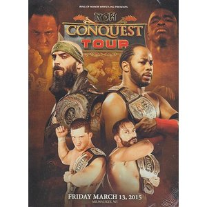 ROH THE CONQUEST TOUR - MILWAUKEE WI 輸入DVD|bdrop