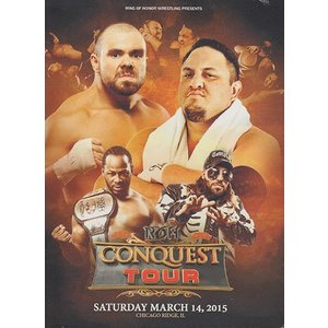 ROH The Conquest Tour - Chicago Ridge IL 輸入DVD|bdrop