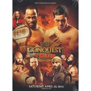 ROH The Conquest Tour - Hopkins Minnesota 輸入DVD|bdrop