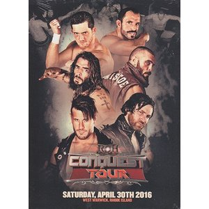ROH CONQUEST TOUR - West Warwick RI 輸入DVD|bdrop