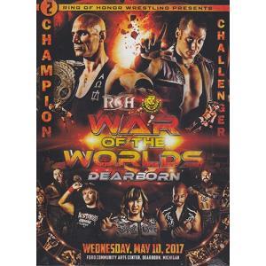 ROH WAR OF THE WORLDS DEARBORN  輸入DVD|bdrop