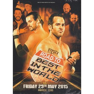 ROH Road To BITW - Amarillo Texas 輸入DVD|bdrop