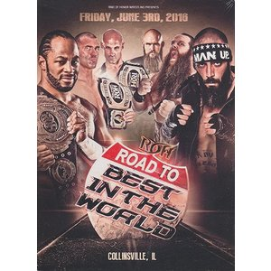 ROH Road to BITW - Collinsville IL 輸入DVD|bdrop