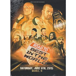 ROH ROAD TO BITW 15 - Nashville TN 輸入DVD|bdrop