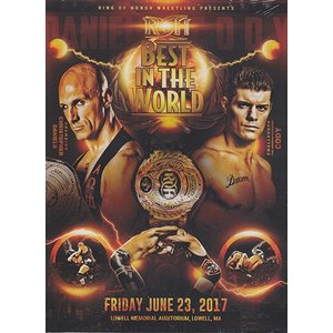 ROH Best in the World 2017-Lowell MA 輸入DVD|bdrop