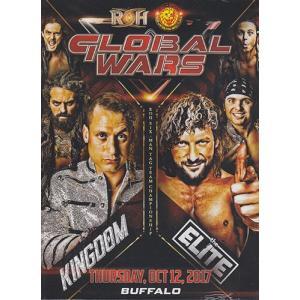 ROH GLOBAL WARS 2017 NIGHT 1 BUFFALO NY  輸入DVD|bdrop