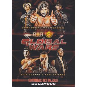 ROH GLOBAL WARS 2017 NIGHT 3 COLUMBUS OH 輸入DVD|bdrop
