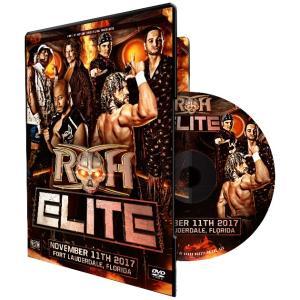 ROH The Elite - Ft Lauderdale FL 輸入DVD|bdrop