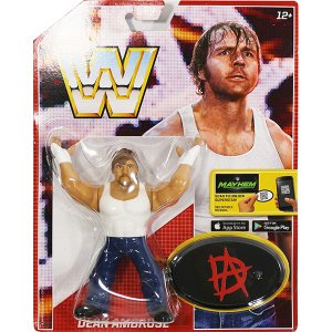 WWE Mattel Retro Series 3 Dean Ambrose(ディーン・アンブローズ)|bdrop